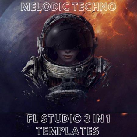 Melodic Techno - 3 in 1 FL Studio Templates