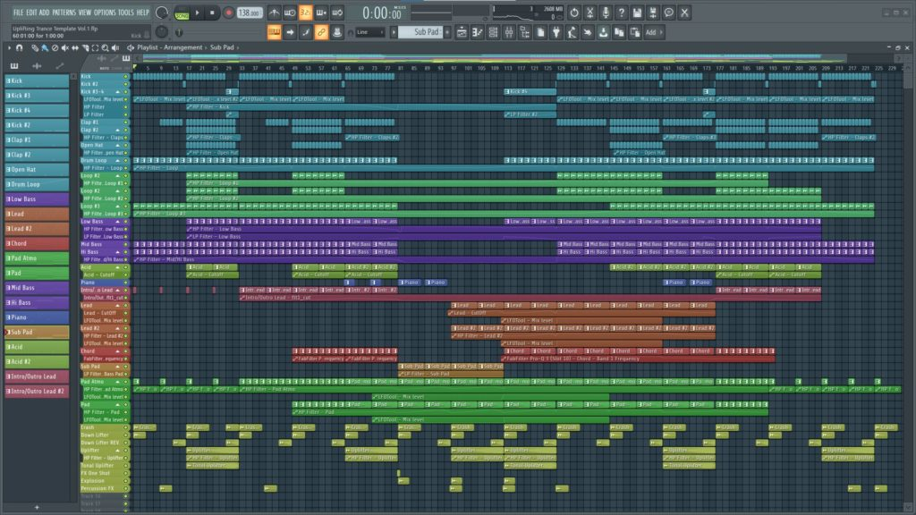 Andy Tate Uplifting Trance Template Screenshot 1