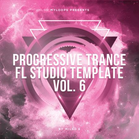 Progressive Trance FL Studio Template Vol. 6 (By Milad E)