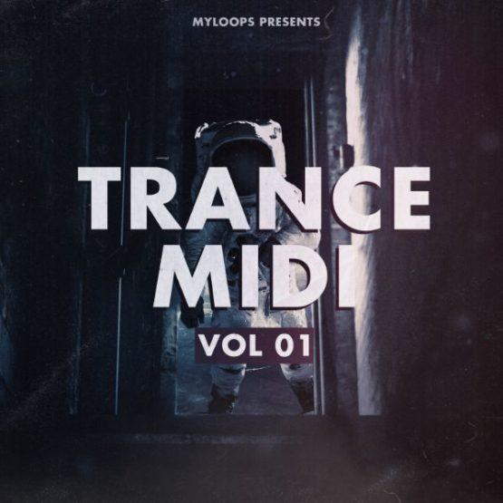 Trance Midi vol.1 by TH3 ONE-cover