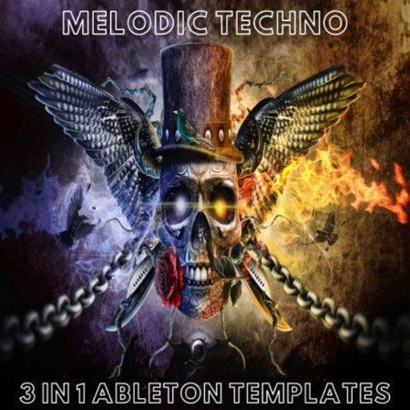 Melodic Techno - 3 in 1 Ableton Templates