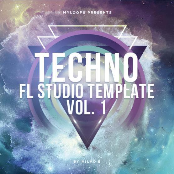 Techno FL Studio Template Vol. 1 (By Milad E)