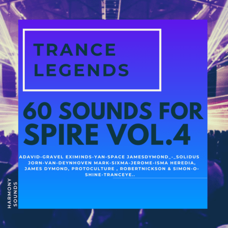 Trance Legends 4 (60 Sounds For Spire)