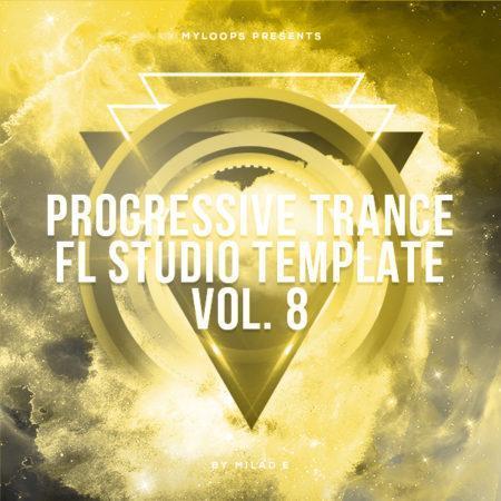 Progressive Trance FL Studio Template Vol. 8 (By Milad E)