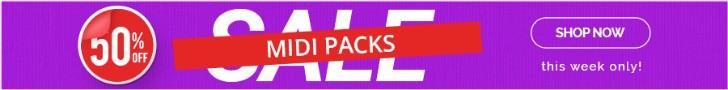 50- midi packs