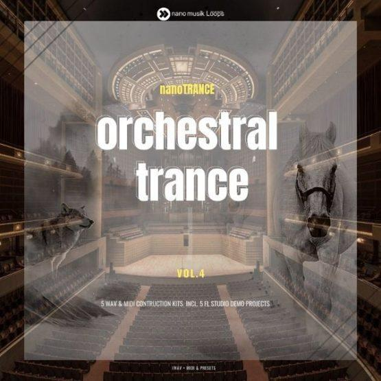 nanoTrance Orchestral Trance Vol 4 600