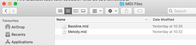 how to load midi files into ableton live way 1 screenshot 1