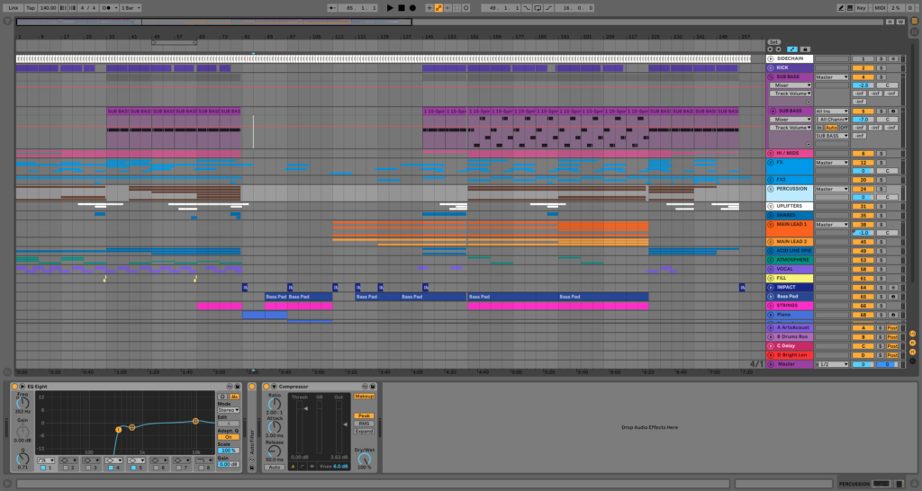 Paipy Uplifting Trance Ableton Template Vol. 5 Screenshot