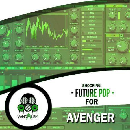 Shocking Future Pop For Avenger By Vandalism