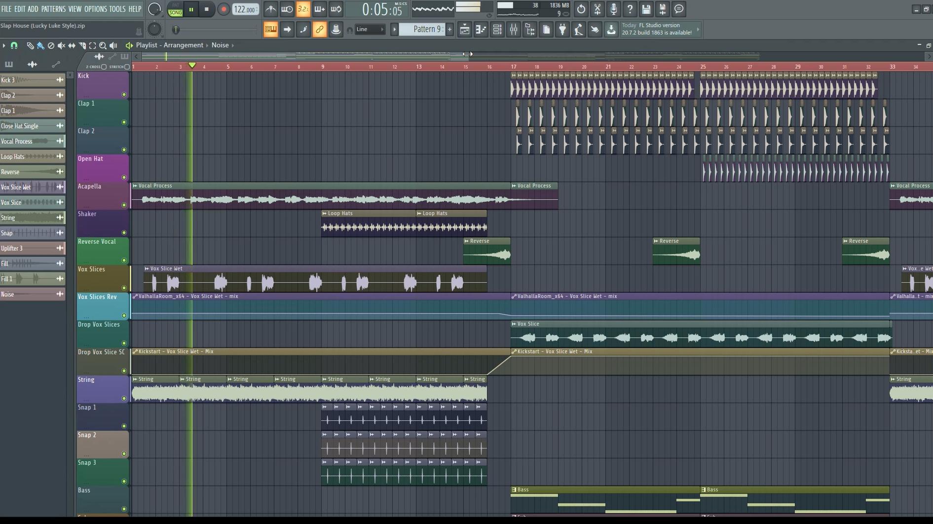 Slap House Ableton & FL Studio Template Vol. 2 By Soundlabs - fl studio screenshot