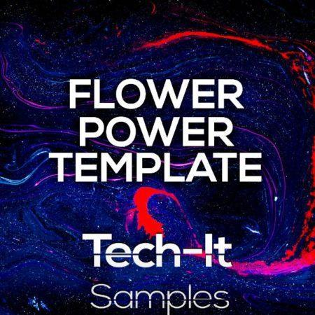 Tech-It Samples - Flower Power FL Studio Template (Boris Brejcha Style)