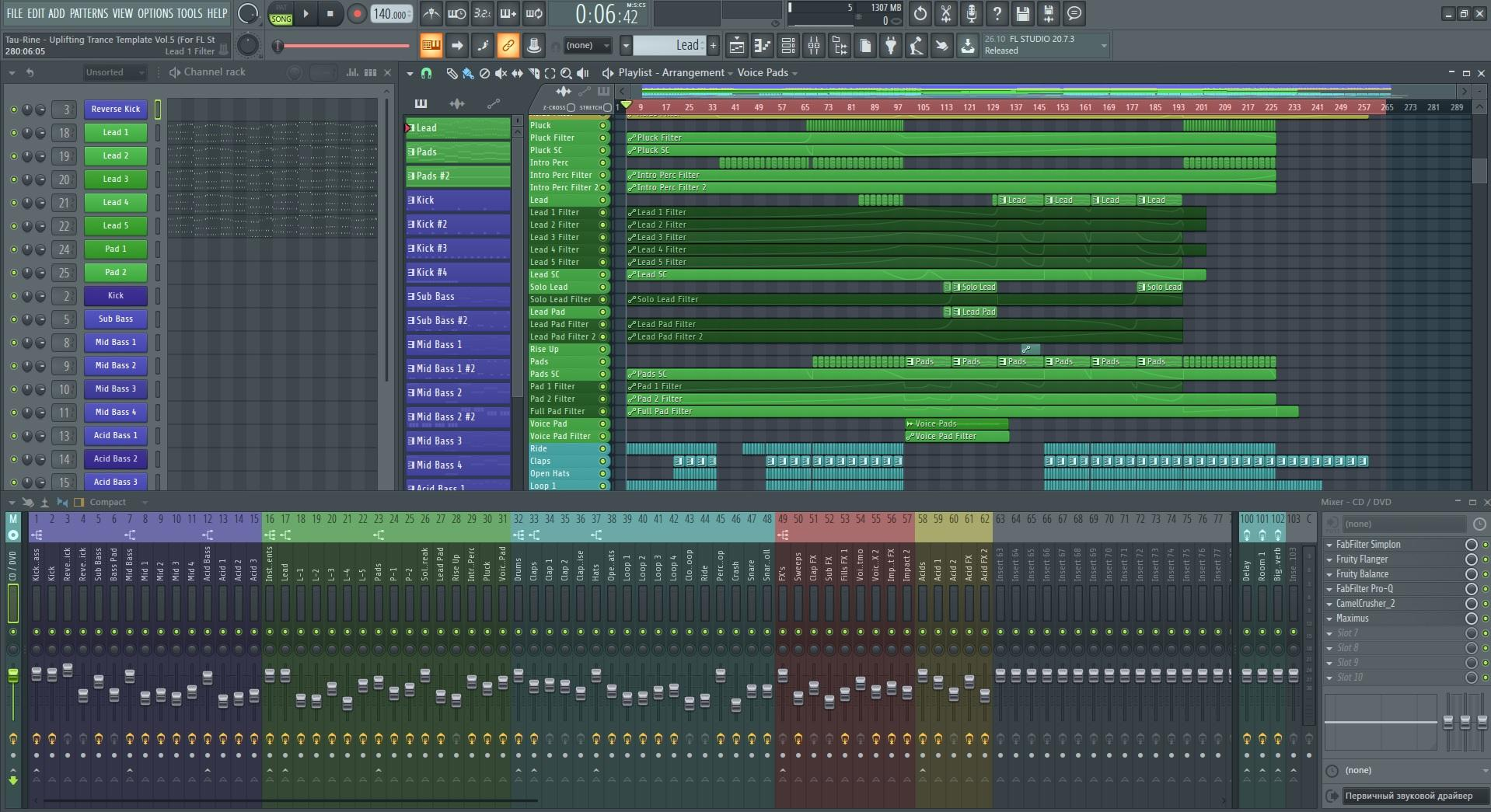 tau-rine-uplifting-trance-template-vol-5-for-fl-studio-screenshot