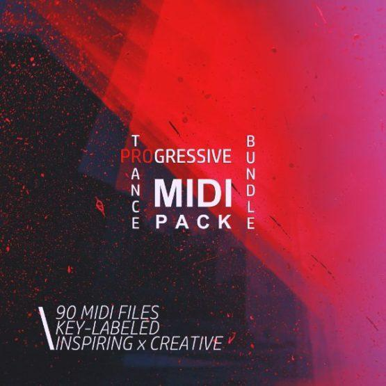 Progressive Trance MIDI Bundle (Vol 1-3)
