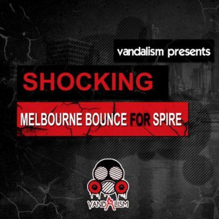 Shocking Melbourne Bounce For Spire By Vandalism