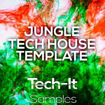 TISTL005 Tech-It Samples - Jungle Tech House FL Studio Template