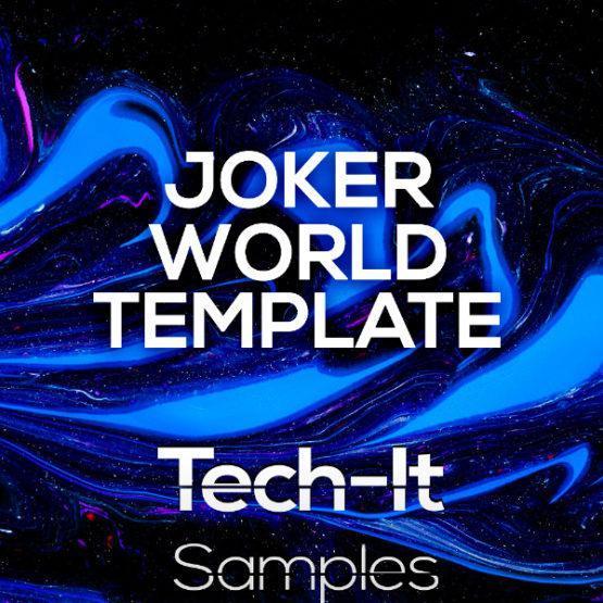 Tech-It Samples - Joker World Ableton Live Template (Boris Brejcha Style)