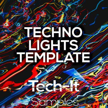 Tech-It Samples - Techno Lights FL Studio Template