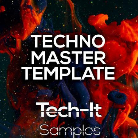 Tech-It Samples - Techno Master Ableton Live Template (Boris Brejcha Style)