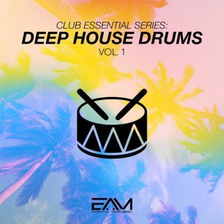 Club Essential Series - Deep House Drums Vol.1 By Essential Audio Media