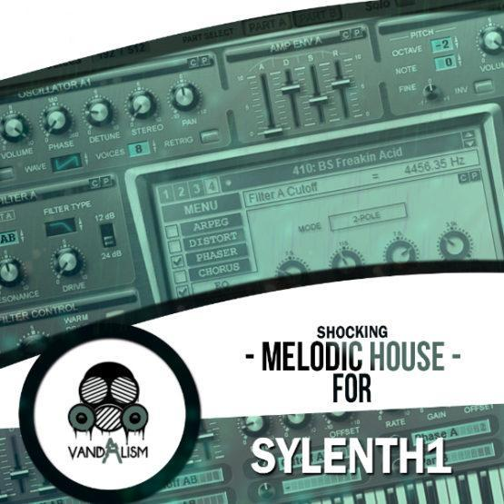 Shocking Melodic House For Sylenth1 By Vandalism