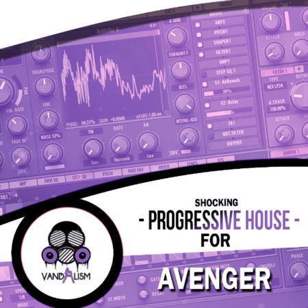 Shocking Progressive House For Avenger By Vandalism