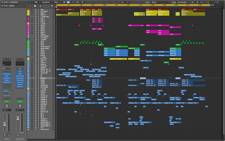 Tycoos – Observer (Logic Pro X Template) - Screenshot