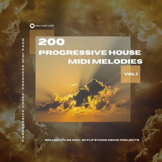 200 Progressive House MIDI Melodies Vol 1 800 (1)