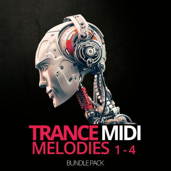 HighLife Samples Trance Midi Melodies 1-4 Bunlde Pack