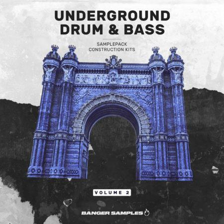 Banger Samples - Underground DNB Vol.2 [Art Cover]