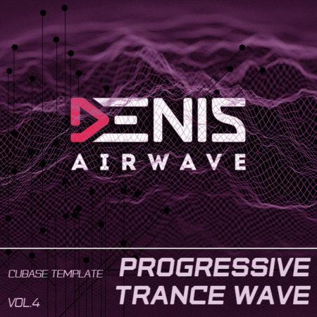 Cover_Denis Airwave - Progressive Trance Wave Vol.4