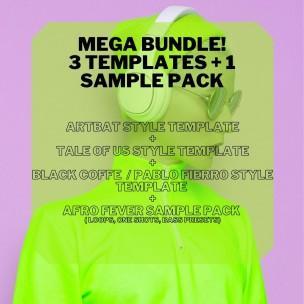 Melodic Techno Mega Bundle by Steven Angel