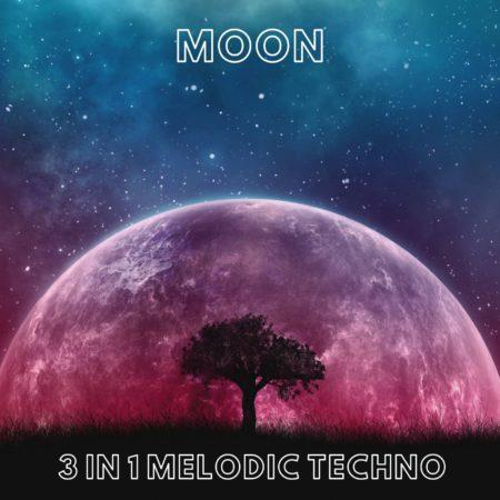 Moon - 3 in 1 Melodic Techno Ableton Live Templates Vol. 3 (Only Native Ableton VST & Plugins) by Innovation Sounds