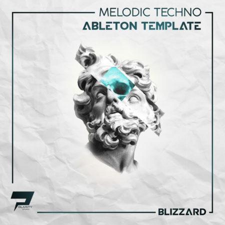 Polarity Studio - Blizzard Melodic Techno Template Artwork