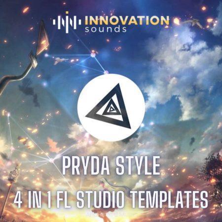Pryda Style 4 in 1 Progressive House - Melodic Techno FL Studio Templates