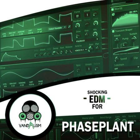 Shocking EDM For Phaseplant