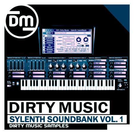 DMS011 Dirty Music - Sylenth SoundBank Vol.1