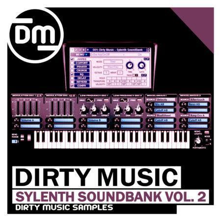 DMS012 Dirty Music - Sylenth SoundBank Vol. 2