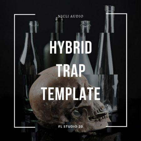Hybrid Trap Template Artwork