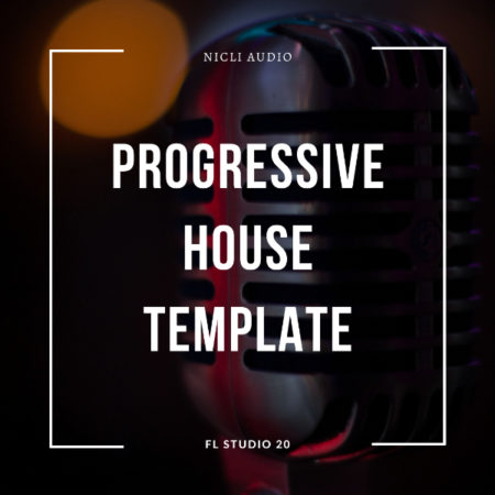 Progressive House Template Artwork