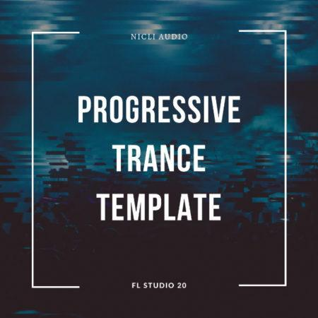 Progressive Trance Template Artwork