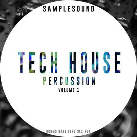 Samplesound_Tech_House_Percussion_Volume_1 ARTWORK