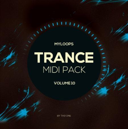 Myloops Trance MIDI Vol. 10 by TH3 ONE