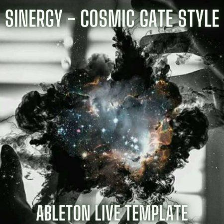 Sinergy - Cosmic Gate Style Ableton 9 Template