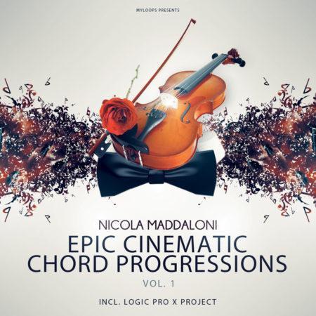 Nicola Maddaloni Epic Cinematic Chord Progressions Vol1 (Inc Logic Pro X Demo Project)