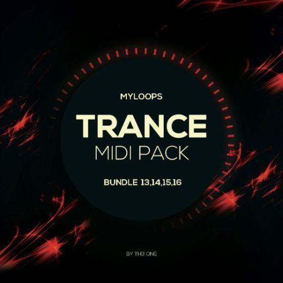 Myloops Trance MIDI Bundle 13,14,15,16 by TH3 ONE