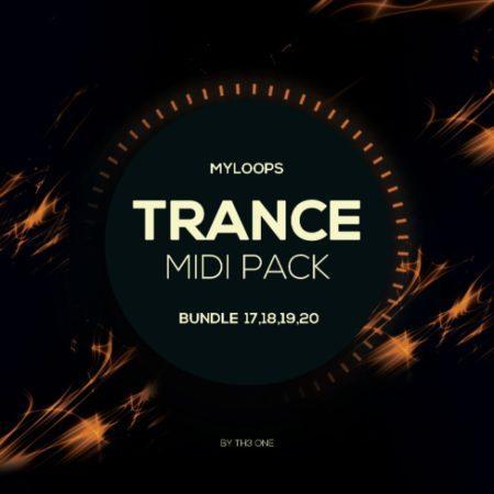 Myloops Trance MIDI Bundle 17,18,19,20 by TH3 ONE