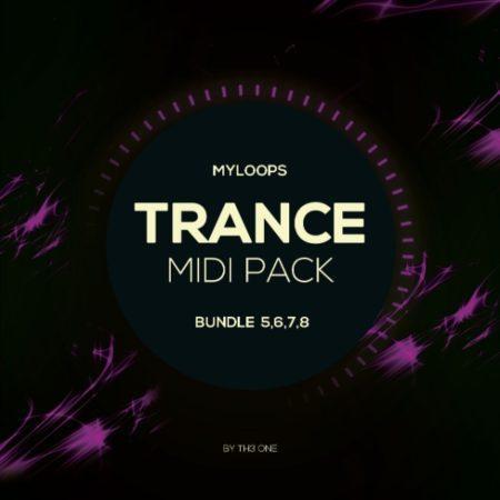 Myloops Trance MIDI Bundle 5,6,7,8 by TH3 ONE