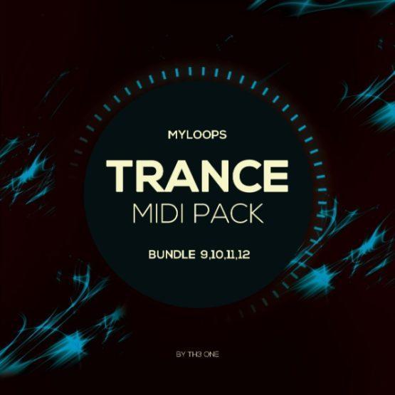 Myloops Trance MIDI Bundle 9,10,11,12 by TH3 ONE