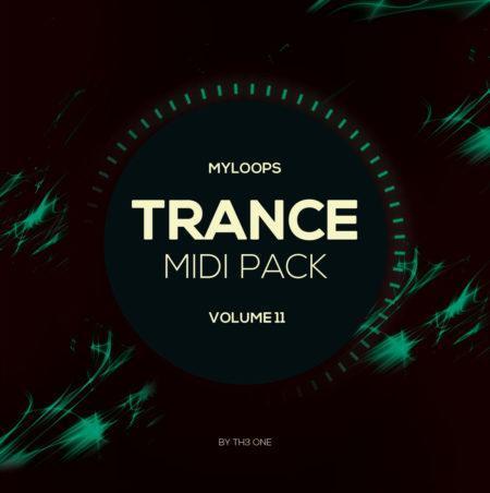 Myloops Trance MIDI Vol. 11 by TH3 ONE