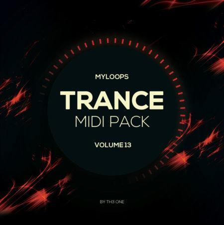 Myloops Trance MIDI Vol. 13 by TH3 ONE